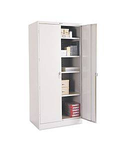 """78"""" High Deluxe Cabinet, 36w X 24d X 78h, Light Gray"""