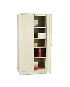 """78"""" High Deluxe Cabinet, 36w X 24d X 78h, Putty"""