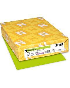 Color Cardstock, 65 Lb, 8.5 X 11, Terra Green, 250/pack