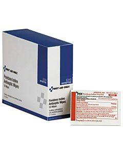 Refill For Smartcompliance General Business Cabinet, Pvp Iodine, 50/bx