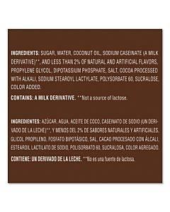 Liquid Creamer Pump Bottle, Salted Caramel Chocolate, 1.5 Liter