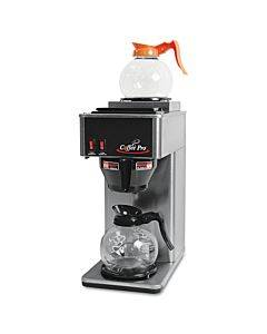 Two-burner Institutional Coffee Maker, Stainless Steel