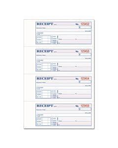 Tops 2-part Hardbound Receipt Book, 7 X 2 3/4, W/carbon, 300 Set/book