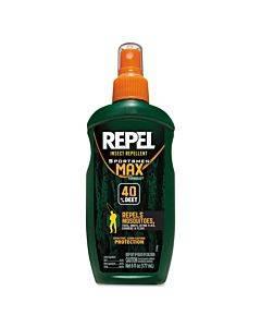 Repel Insect Repellent Sportsmen Max Formula Spray, 6 Oz Spray, 12/ct