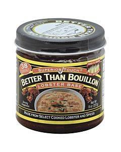 Better Than Bouillon Seasoning - Lobster Base - Case Of 6 - 8 Oz.
