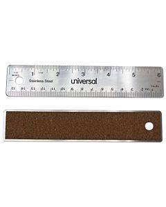 """Stainless Steel Ruler, Standard/metric, 6"""""""