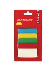 """Self Stick Index Tab, 2"""", Assorted Colors, 40/pack"""