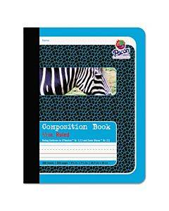 Composition Book, Medium/college Rule, Blue Cover, 9.75 X 7.5, 100 Sheets