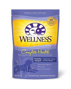 Wellness Pet Products Dog Food - Chicken And Oatmeal Recipe - Case Of 6 - 5
