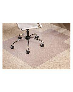 """Multi-task Series Anchorbar Chair Mat For Carpet Up To 0.38"""", 36 X 48, Clear"""