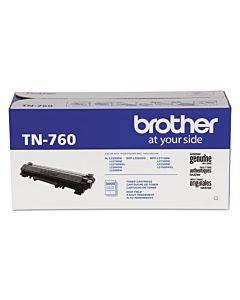 Tn760 High-yield Toner, 3000 Page-yield, Black