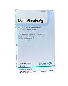 Dermarite Industries Dermaginate/ag Calcium Alginate + Ionic Silver Model: 00525e (10/bx)