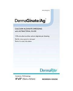 Dermarite Industries Dermaginate/ag Calcium Alginate + Ionic Silver Model: 00535e (1/ea)