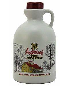 Anderson's Maple Syrup Maple Syrup - Grade B - 1 Gallon