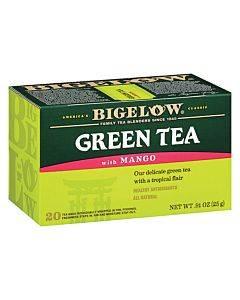 Bigelow Tea Green Tea With Mango - Case Of 6 - 20 Bag