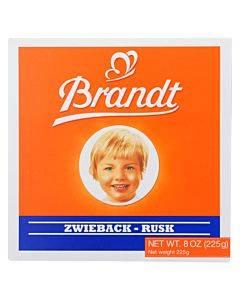 Brandt Zwieback - Case Of 10 - 8 Oz