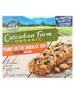 Cascadian Farm Organic Chewy Bars - Honey Roasted Nut - Case Of 12 - 8.85 Oz