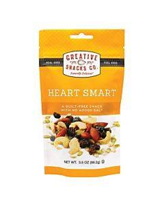 Creative Snacks Co. Heart Smart Nut Mix  - Case Of 6 - 3.5 Oz