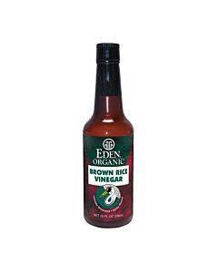 Eden Foods Organic Vinegar - Brown Rice - Case Of 12 - 10 Fl Oz