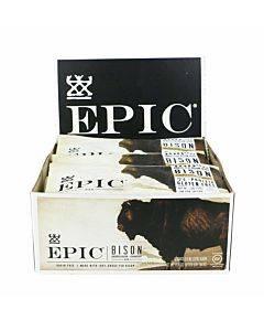Epic Bar - Bison - Uncured Bacon - Cranberry - Case Of 12 - 1.3 Oz