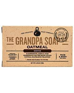 Grandpa Soap Bar Soap - Oatmeal - 4.25 Oz