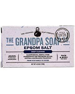 Grandpa Soap Bar Soap - Epsom Salt - 4.25 Oz