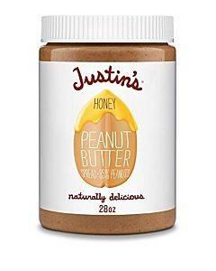 Justin's Nut Butter Peanut Butter - Honey - Case Of 6 - 28 Oz.