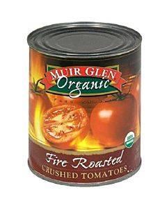 Muir Glen Organic Tomatoes - Fire Roasted - Diced - No Salt - Case Of 12 - 28 Oz