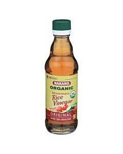Nakano Vinegar - Organic - Seasoned Rice - Case Of 6 - 12 Oz