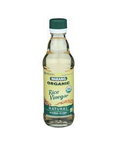 Nakano Vinegar - Organic - Natural Rice - Case Of 6 - 12 Oz