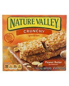 Nature Valley Gran Bar - Crunch - Pnut Buttr - Case Of 12 - 8.94 Oz