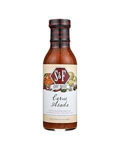 Schlotterbeck And Foss Sauce - Carne Asada - Case Of 6 - 12 Oz