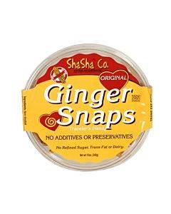 Shasha Bread Original Ginger Snap Cookies - Case Of 16 - 12 Oz