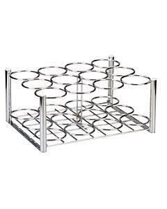 Steel Oxygen Cylinder Rack, M6 Cylinders Only, 12 Cylinders