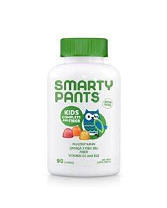 Smartypants Gummy Vitamin - Multi - Kid + Fiber - 90 Count