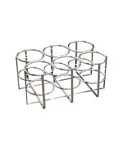 Economy Oxygen 6 Cylinder Rack, E, D Or C Cylinders Only