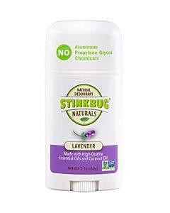 Stinkbug Naturals Deodorant Stick - Lavender - 2.1 Oz