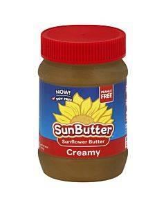 Sunbutter Sunbutter - Creamy - Case Of 6 - 16 Oz