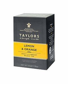 Taylors Of Harrogate Tea - Lemon & Orange - Case Of 6 - 20 Count