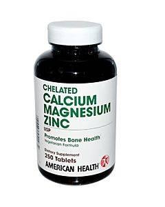 Chelated Calcium & Magnesium W/zinc