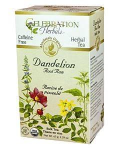 Dandelion Root Raw Tea Organic