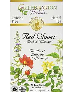 Red Clover Herb & Flower Tea Org