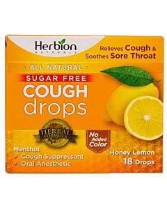 Sugar Free Cough Drops Honey Lemon
