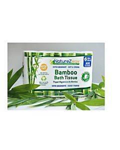 Bamboo Bath Tissue 400 Sheet Rolls 6 rolls / Pack