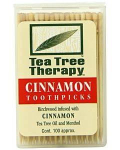 Cinnamon Tea Tree Toothpicks 100ct