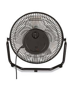 """9"""" Personal Cooling Fan, 3 Speed, Black"""