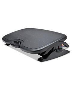 Solemate Plus Adjustable Footrest W/smartfit System, 21.9w X 3.7d X 14.2h, Black