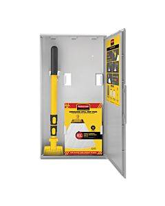 "Biohazard Spill Mop Kit, White Head, 22"" To 47.5"" Yellow/black Handle"