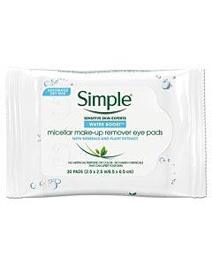 Eye And Skin Care, Eye Make-up Remover Pads, 30/pack