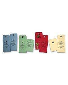 "Snap-lock Vault Key Envelopes, 2.25"" X 3.5"", Red, 250/box"